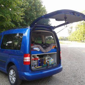 Caddy als Campingmobil